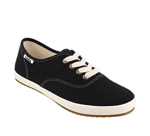 Taos Footwear Women's Guest Star Black Canvas Fashion Sneaker 8 M US