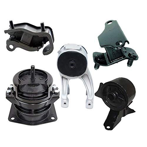 (K0666 Fits 1999-2004 Honda Odyssey 3.5L Motor & Trans Mount Set w/Hydraulic! 5PCS : A4519HY, A6552, A4518, A6582, A6579)