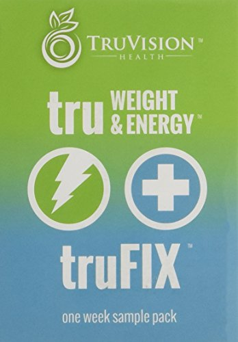 TruVision Health truFIX and truWEIGHT & Energy Sample Pack in the ...