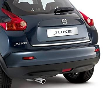 Original Nissan JUKE cromo tira de portón trasero: Amazon.es: Coche y moto