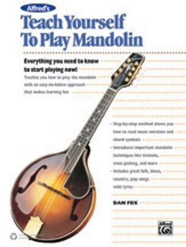 (Alfred Alfred's Teach Yourself to Play Mandolin Book, CD & DVD)