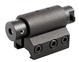 Ultimate Arms Gear Tactical Compact Red Laser Sight For S&W Smith & Wesson 1911 M&P SD9 SD40 Pistols With A Front Weaver Picatinny Rail