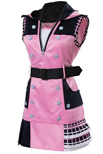 Kingdom Hearts III Kairi Outfit Halloween Cosplay Dress