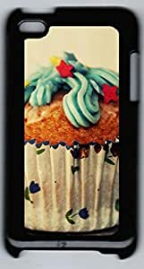 For Touch 4, iPod Touch Generation 4 4th Case, iCustomonline Choco Cupcake Back Cover Snap on Case for iPod Touch 4 4th