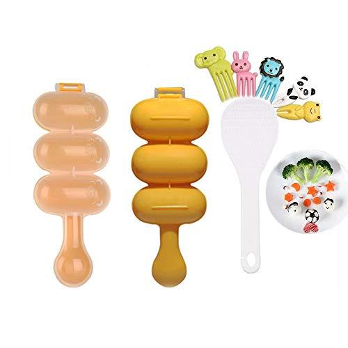 (ZEINSINN Wholehearted Rice Ball Onion Rice Ball Maker Ball Type Rice Lunch Box Rice Ball Rice Ball Maker)