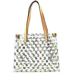 Dooney Bourke Clear IT Medium Shopper Bag Purse Tote