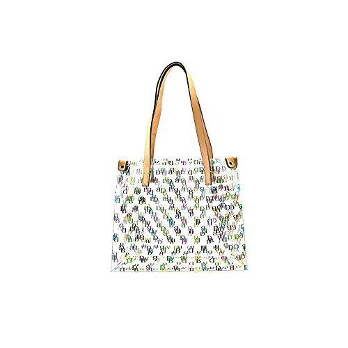 Dooney Bourke Clear IT Medium Shopper Bag Purse Tote ()