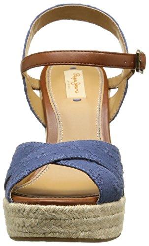 Femme 588 Romantic Pepe Ocean Bleu Walker Espadrilles Jeans wOgpFqI