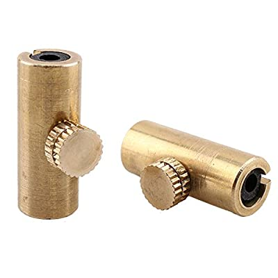 Golden Brass Adjustable Cello Wolf Tone Eliminator Wolf Tone Mute Suppressor Tube Eliminate Wolf Tone Set of 2