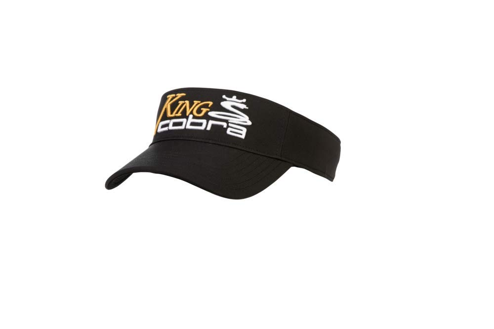 Amazon.com  Cobra Golf 2019 King Cobra Visor (Black)  Sports   Outdoors 19625cb55096