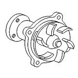 Case-IH Pump Water Part No: A-A152154
