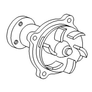 Case-IH Pump Water Part No: A-A152154 by AI Products