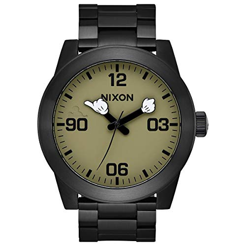 Nixon Men's Corporal SS Disney Collection Black/Surplus/Mickey Arms One Size ()