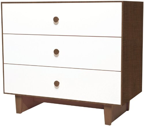 Oeuf Merlin Rhea Dresser - Walnut/White