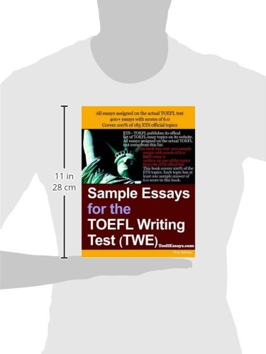 Toefl ibt essay subjects Amazon com