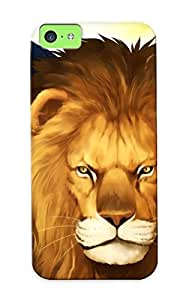 High Quality Trolleyscribe Fatestay Night Saber Lions Fate Series Skin Case Cover Specially Designed For Iphone - 5c