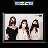 (Pack of 20) Korea Black Disposable KF94 Face Masks