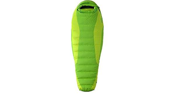 Marmot Angel Fire - Saco de dormir momia para acampada (algodón, hasta 0,49 kg, izquierdo), color verde, talla Left Zip: Amazon.es: Deportes y aire libre