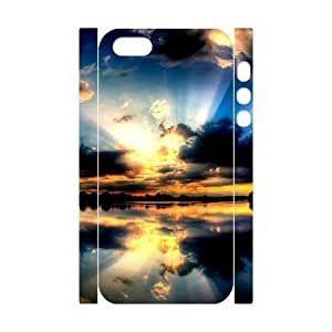 ALICASE Diy Hard Shell Case Starfish For Iphone 5C [Pattern-1]