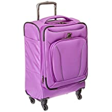 IT Luggage Mega lite Premium Expandable Spinner 22 Inch Carry On, Purple, One Size
