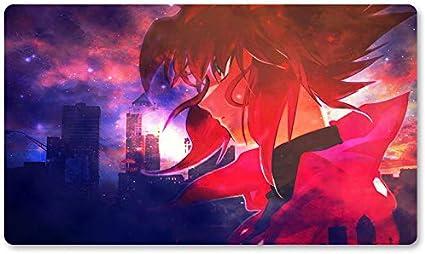 Juego de mesa Yugioh de Blood Red Sky – Alfombrilla de juego de ...