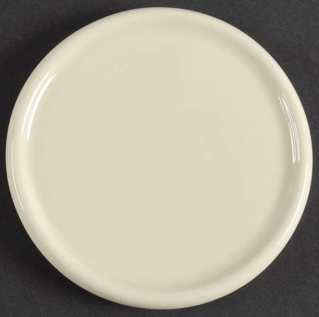 Longaberger Woven Traditions-Ivory 1 Pint Coaster/Crock Lid, Fine China Dinnerware