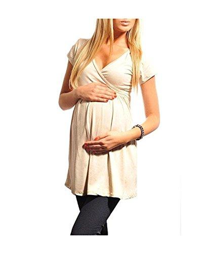 Dressing Maternity - Camiseta - para mujer Beige