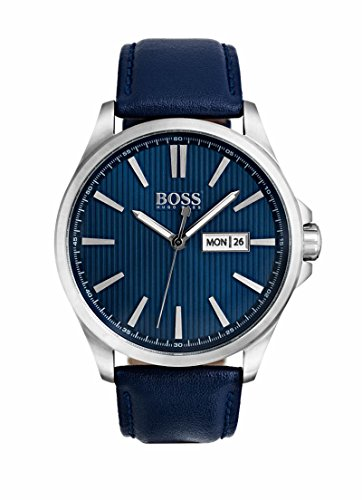 Men's Hugo Boss Chronograph Black Steel Watch 1513465