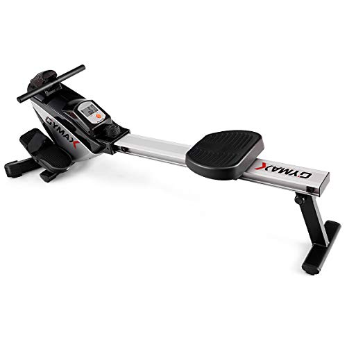 Goplus Magnetic Rowing Machine Folding Rower with LCD Display and...
