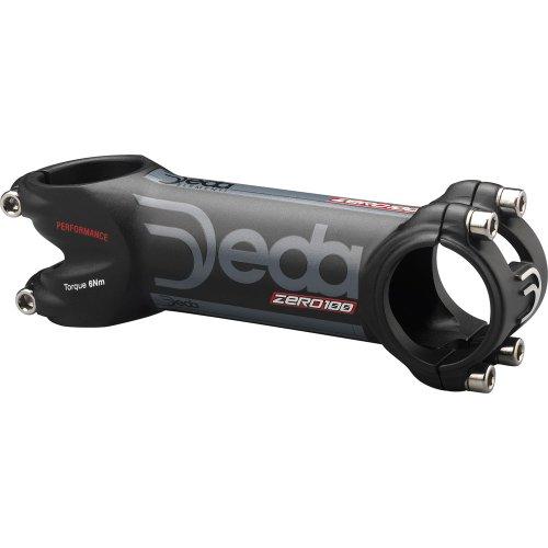 Deda Zero 100 Performance Road Bicycle Stem (Black/Black - 31.7 x 110 x -8 degree)