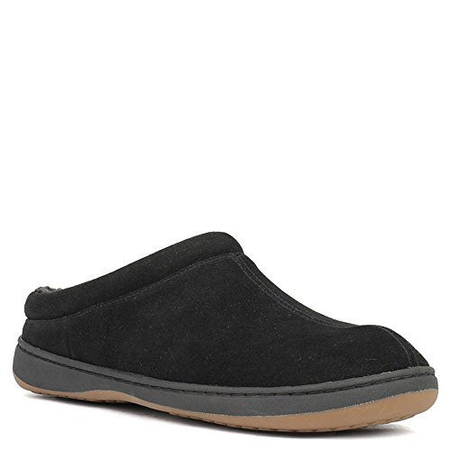 Men's TempurPedic Arlow Pedic Suede Black Tempur Slipper w4t6xFCnqq