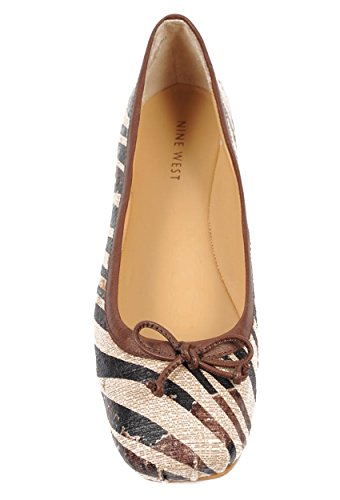 NINE WEST - Zapatos Bailarina Para Mujer NWLOREDANA NATCOMBO DKB