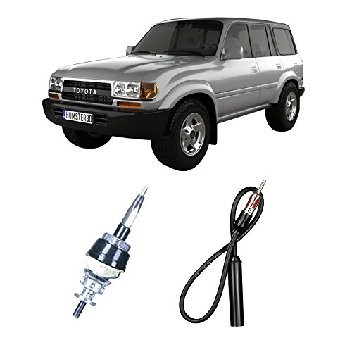 Fits Toyota Land Cruiser 1985-1996 Factory Replacement Radio Stereo Custom Antenna (Land Cruiser Antenna Toyota)