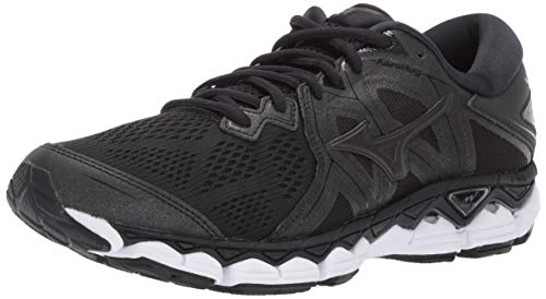 Mizuno Men's Wave Sky 2 Running Shoe, Black 10.5 D US