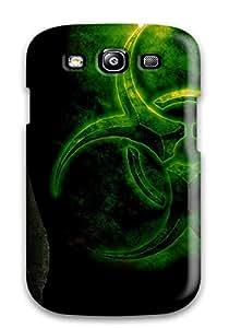 Jose de la Barra's Shop 8917400K42932890 Rugged Skin Case Cover For Galaxy S3- Eco-friendly Packaging(nuke Sci Fi)