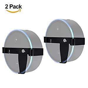 lanmu wall mount for alexa echo dot 2nd. Black Bedroom Furniture Sets. Home Design Ideas