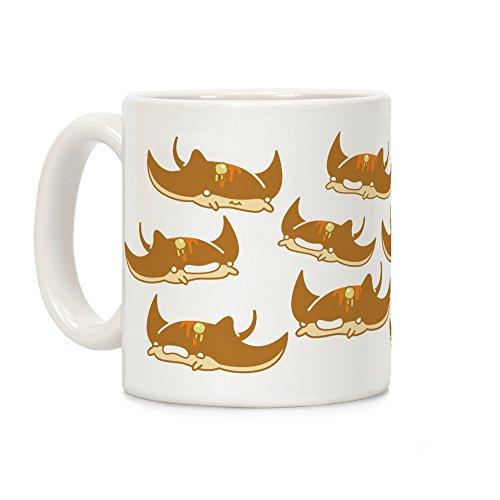 LookHUMAN Sea Pancake White 11 Ounce Ceramic Coffee Mug]()