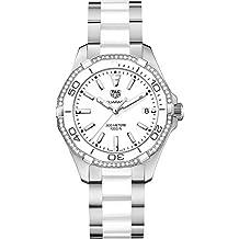 Tag Heuer Aquaracer White Dial Ladies Watch WAY131H.BA0914