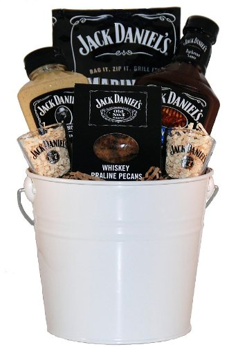 Jack Daniels BBQ Gift Basket (Whiskey Gift Baskets)