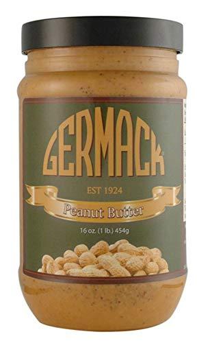 Germack Pistachio Company, Natural Peanut Butter, 16 oz -