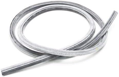 Compatible with WPW10509257 Door Gasket W10509257 Dishwasher Door Gasket Replacement for Whirlpool DU400CWGW0