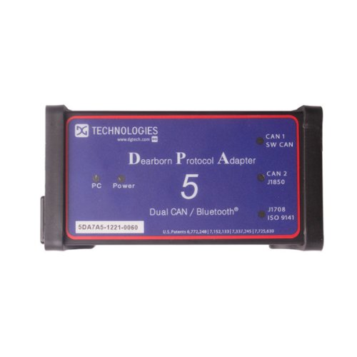 DPA 5 DPA5 Dearborn Protocol Adapter 5 Commercial Vehicle Diagnostic Tool  Heavy Duty Truck Scanner