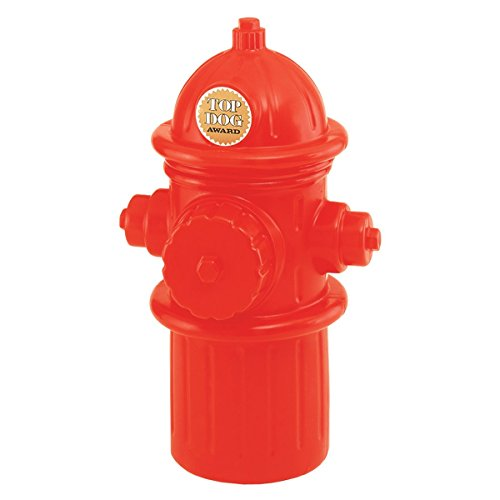 Fire Hydrant Dog Toy (Hueter Toledo Lifesize Replica Plastic Fire Hydrant)