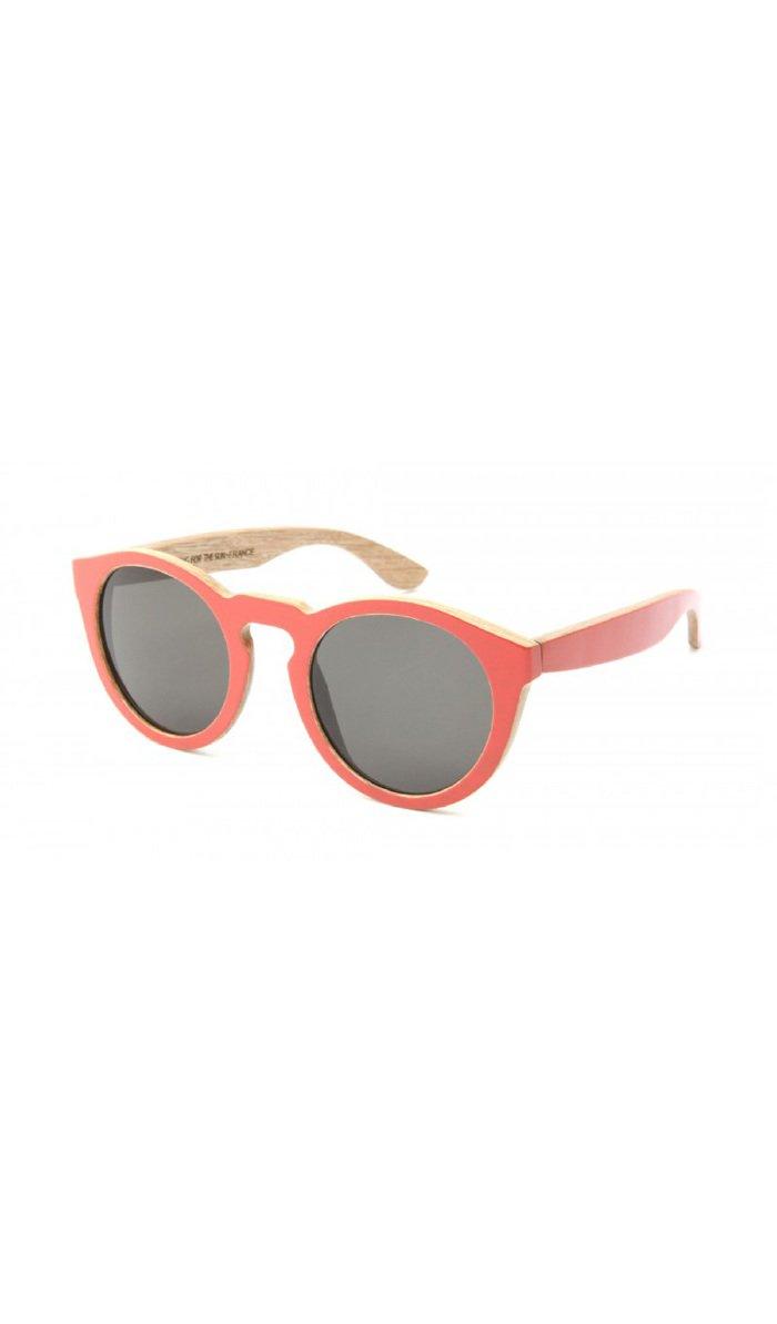 Waiting For The Sun - Glasses SUMMER LOVE - Unisex - Onesize - Red
