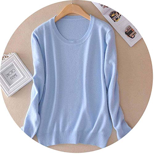 d Sweater Knitted Pullover Women Winter Plus Size Jumper O Neck Sweater,M ()