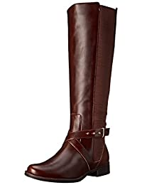 STEVEN by Steve Madden Women's Sydneewc Motorcycle Boot