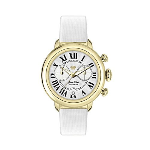 GLAM ROCK WOMEN'S BAL HARBOUR 40MM SATIN BAND SWISS QUARTZ WATCH GR77137W