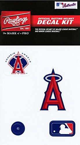 - Rawlings Sporting Goods MLBDC Decal Kit, Los Angeles Angels