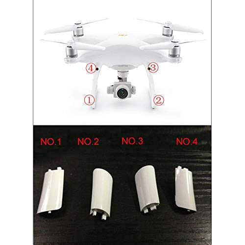 Ximimark 4Pcs Drone Landing Gear Cover Case Repair Part For DJI Phantom 4 Pro/Adv