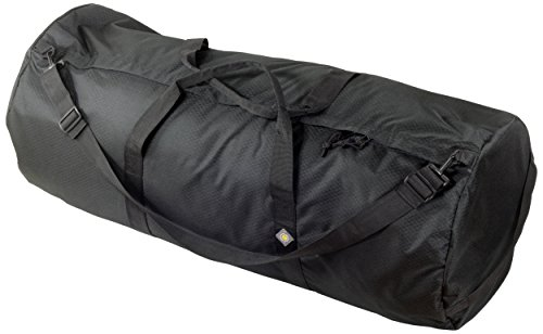(NorthStar SD1640DLX-MB Sports 1050 HD Tuff Cloth Diamond Ripstop Series Gear and Duffle Bag, 16 x 40-Inch, Midnight Black)
